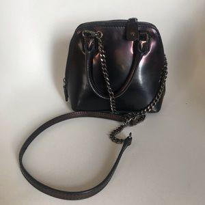 Alice & Olivia black mini Jackie box shoulder bag